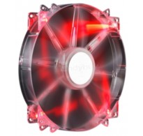 Cooler Master Megaflow 200 RED LED Silent Fan Cooler